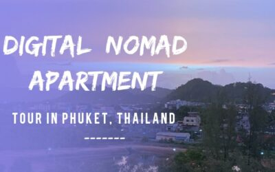 Digital Nomad Apartment Tour in Phuket, Thailand